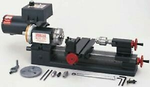 Sherline 4000a 3 5 X 8 Metal Lathe inch With A Package Made In Usa