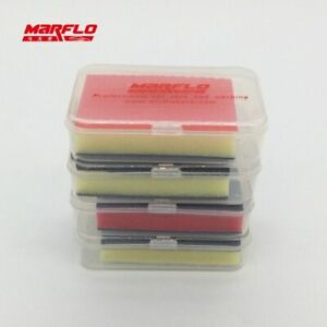 Car Care Paint Cleaner Magic Clay Bar Cleaning Detailing Wax Applicator Sponge