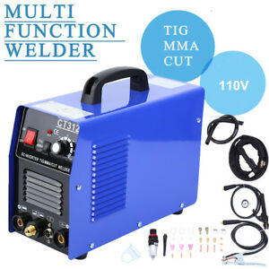 Ct312 110v Tig mma Welder Plasma Cutter 3 In 1 Welding Machine Accessories