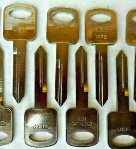 8 Ford H75 Key Blanks Made In Usa Non Transponder