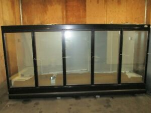Beautiful Used Tyler 5 Glass Door Remote Endless Run Freezer Supermarket Case