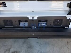2019 2020 Gmc Sierra 1500 Multipro Tailgate Kicker Speaker System Gm Oe 19417163
