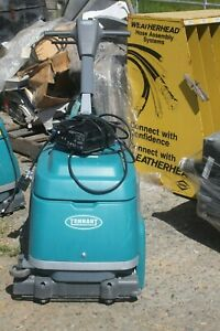 Tennant T1b Battery Powered Walk behind Scrubber