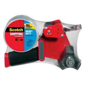 3m Scotch 1 88 In X 54 6 Yds Heavy Duty Shipping Packaging Tape With Dispenser