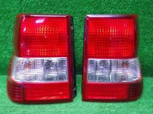 Mitsubishi Pajero Io H76w H77w Tail Lights Rear Lamps 1998 2002 Pair