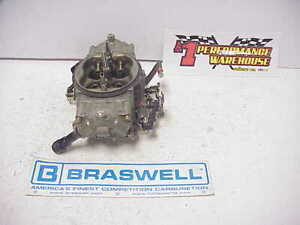 Braswell Holley Hp 830 Cfm Annular Boosters E 15 Racing Carburetor Nascar 37
