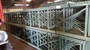 Used Pallet Rack 20ft X 32 Uprights qty 20
