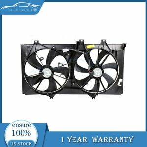 For 2012 2017 Toyota Camry 2 5l L4 New Radiator Ac Condenser Plastic Cooling Fan