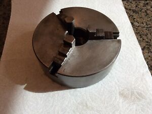 Atlas Craftsman 12 Lathe 6 Diameter 3 Jaw Scroll Chuck