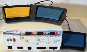 Aaron 3250 Bipolar Electrosurgical Generator Ref A3250 Esu With Foot Switches