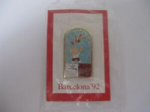 Olympic 1992 Barcelona Coca Cola pin badge