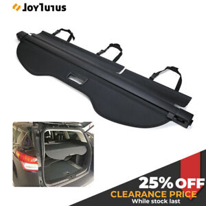 Fit For Ford Escape 2013 2019 Rear Cargo Cover Retractable Luggage Shade Black