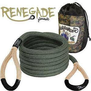 Bubba Rope Renegade Recovery Rope Military Camo Green 176655bkg