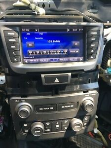 2011 13 Chevrolet Caprice Ls3 Ppv Radio Temperature Control Panel Display