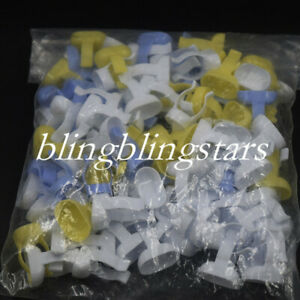 1000 Pcs Dental Endo Finger Ring Mixing Bowl Dish Handy Tool Cup Prophy Dappen