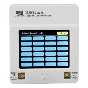 Dso112a 5msps 2mhz Pocket Usb Digital Storage Oscilloscope Tft Touch Screen X1n7
