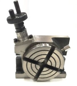 Low Profile Small Rotary Table 3 80 Mm For Instant Milling Machine Engineering
