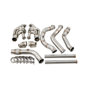 Cxracing Twin Turbo Manifold Downpipe Kit For 65 70 Chevrolet Impala Small Block