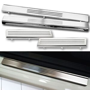For 2009 2018 Ram Quad Crew Mega Cab Replacement Door Step Sill Entry Guards