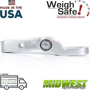 Weigh Safe Fixed Height Ball Mount W 2 Drop Height And 2 Shank