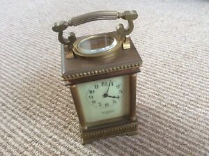 Carriage Clock Chas Packer Co C1900