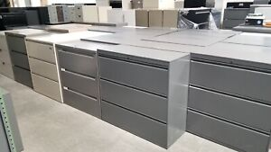 Used Lateral File Cabinets 3 Drawer Local Delivery Key Available