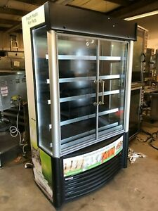 2016 Aht 47 Gd xls Glass 2 Door Refrigerator Cooler Drink Pet Food Led Lights