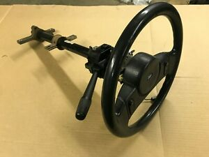87 89 Ford Mustang Tilt Steering Column W Wheel Multi Function Switch