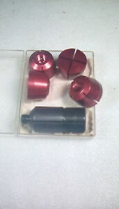 Hardinge Soft Collet Adapter Set R 8 Any Size Hole Cnc Lathe