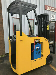 Yale Electric Esco40acn36te084 Stand Up Forklift Counter Balance Lifttruck