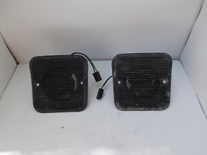 1970 70 71 72 73 74 Dodge Challenger Barracuda Stereo Speakers Am 8 Track Am Fm
