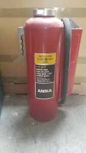 30 Lb Class D Fire Extinguisher Fully Charged For Use With Flammable Metals