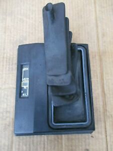 73 91 Chevy Or Gmc Truck Oem Gm 4x4 4wd Shift Shifter Boot Floor Cover Console