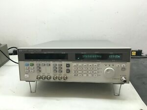 Hp 83732a Signal Generator 10 Mhz 20 Ghz Calibrated With Cert Pulse Mod