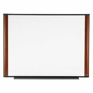3m Dry Erase Board 96 X 48 inches Widescreen Mahogany finish Frame