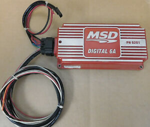 Msd 6201 Digital 6a Ignition Box Capacity Discharge W Wiring