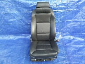 2004 2007 Bmw E60 545i 550i 530i Front Right Passenger Seat Black Oem