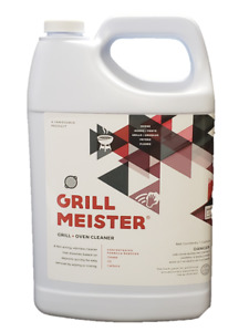 Grillmeister Commercial Cleaner Degreaser For Ovens Grills Fryers 1 Gallon
