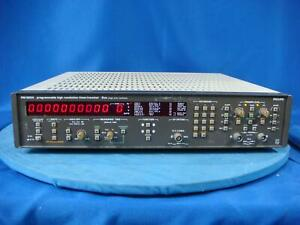 Philips Pm6654 Programmable High resolution Timer frequency Counter