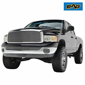 Fit For 2002 2005 Dodge Ram 1500 2500 3500 Chrome Aluninum Billet Grille Shell