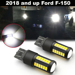 Super White 6000k 100w Led Back Up Reverse Light Bulbs For Ford F 150 2018 2019