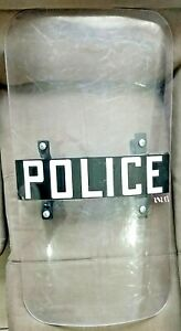 Genuine Police Protective Riot Gear Body Shield And Shin Guards
