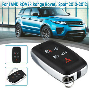 For Land Rover Range Rover Sport 2010 2012 5 Button Remote Key Case Fob Shell