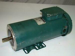Reliance Electric Small Dc Motor Rpm Xl 1hp 1750rpm T56s1104b