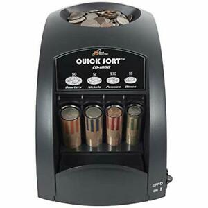 Electric Coin Sorter Machine Cash Money Counter Pos Counting Anti Jam Technology