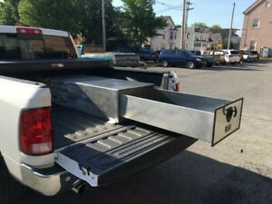 Hdn65 Heavy Duty 1 Drawer Bed Truck Tool Box 65 Long X 24 Wide X 14 1 2 High