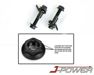 J Power Front Camber Alignment Kit Cam Bolt 12mm Import Or Domestic 2 Pcs