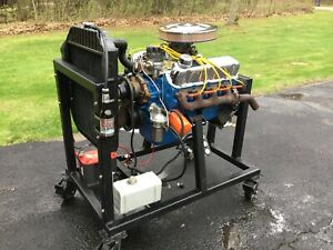 1966 Ford Mustang 289 Engine With Test Stand