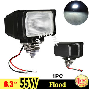 1x 6 3 55w Xenon Hid Work Light Flood 6000k Atv Truck Ute Fog Lamp Offroad Boat