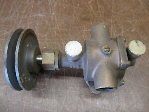 Hit Miss Brass Water Pump Gas Engine Tractor Stationary Engine Jabsco Water